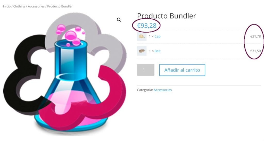 WooComerce Productos Pack