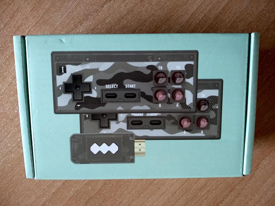 Caja Data Frog Consola 4K HDMI