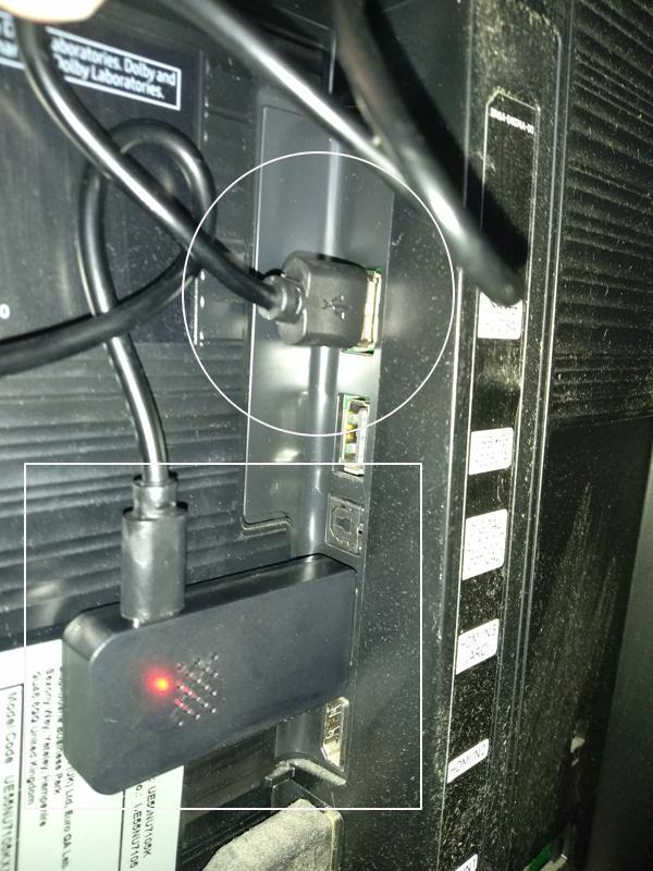 Puerto USB y HDMI